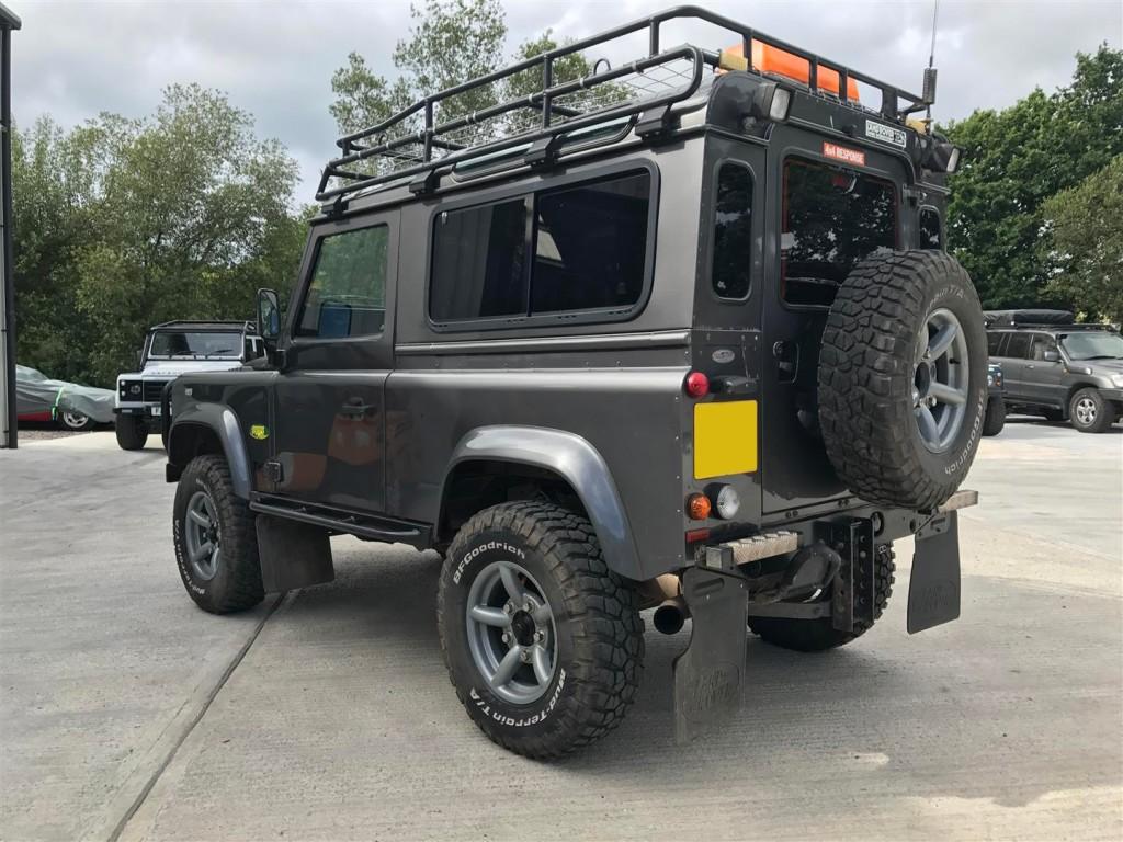 Defender 90 upgrades | Devon 4x4