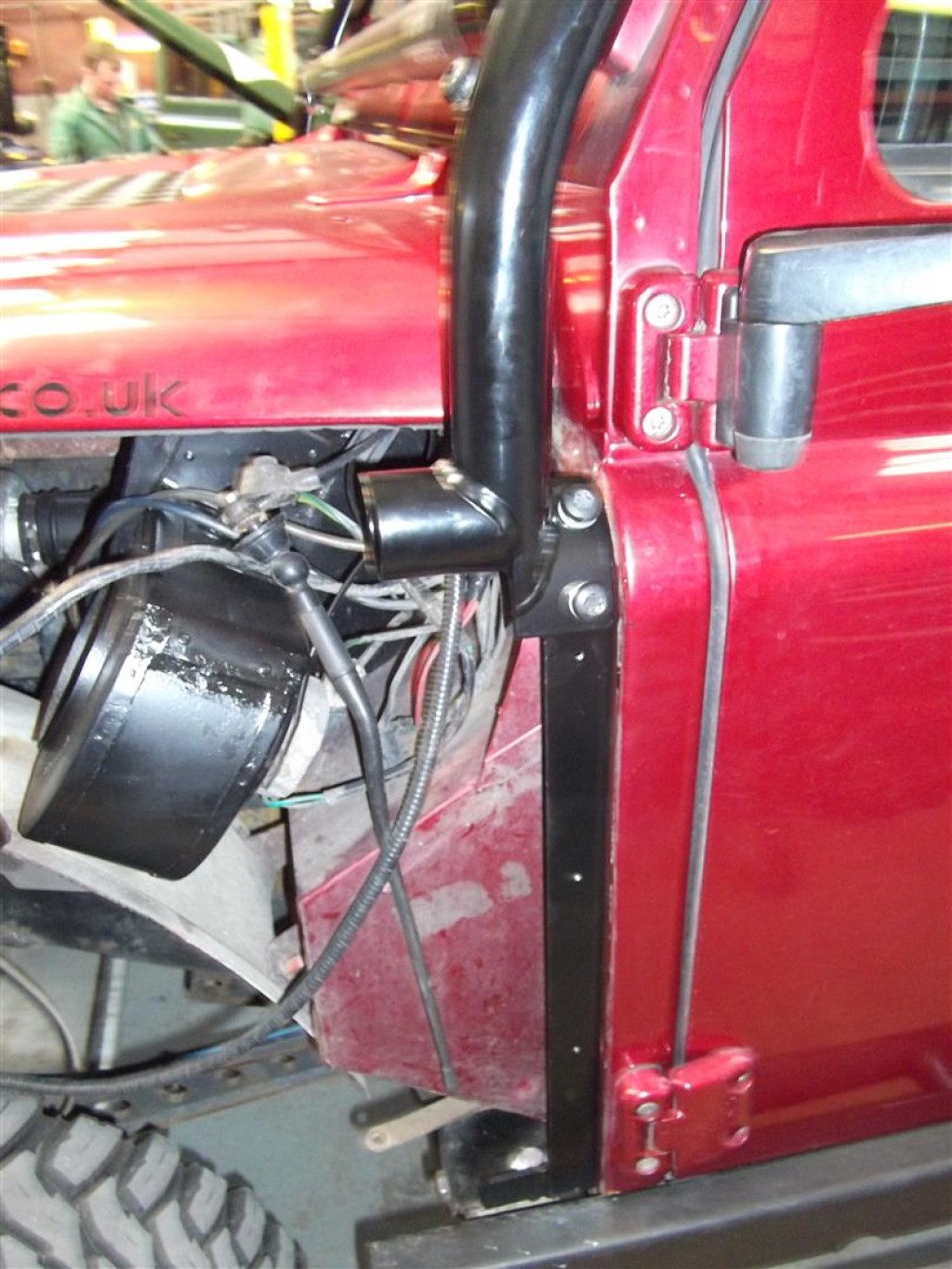 Land Rover Defender Tubular Wings And Roll Cage Devon 4x4