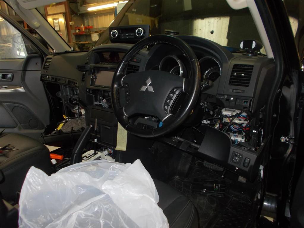 Mitsubishi Shogun Winch Bumper | Devon 4x4