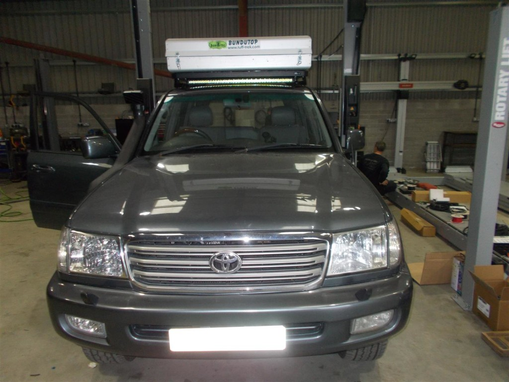 Toyota Land Cruiser 100 Series Devon 4x4 Image Brands In This Gallery