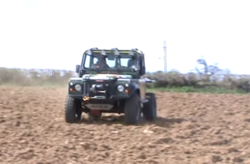 D4x4 90 suspension testing picture