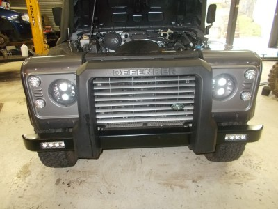 Bumper Replacement with DRLs Image