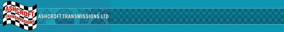 Ashcroft Transmissions banner image
