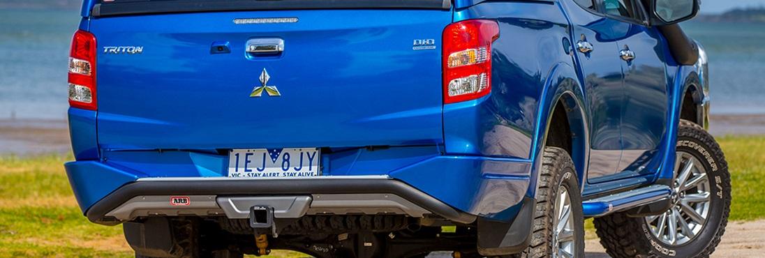 Arb Summit Rear Step Tow Bar Bumper Mitsubishi L200 2016