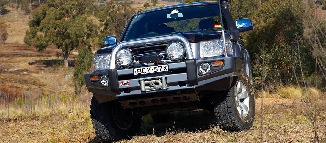 ARB Sahara Winch Bumper Ford Ranger 09 - 11