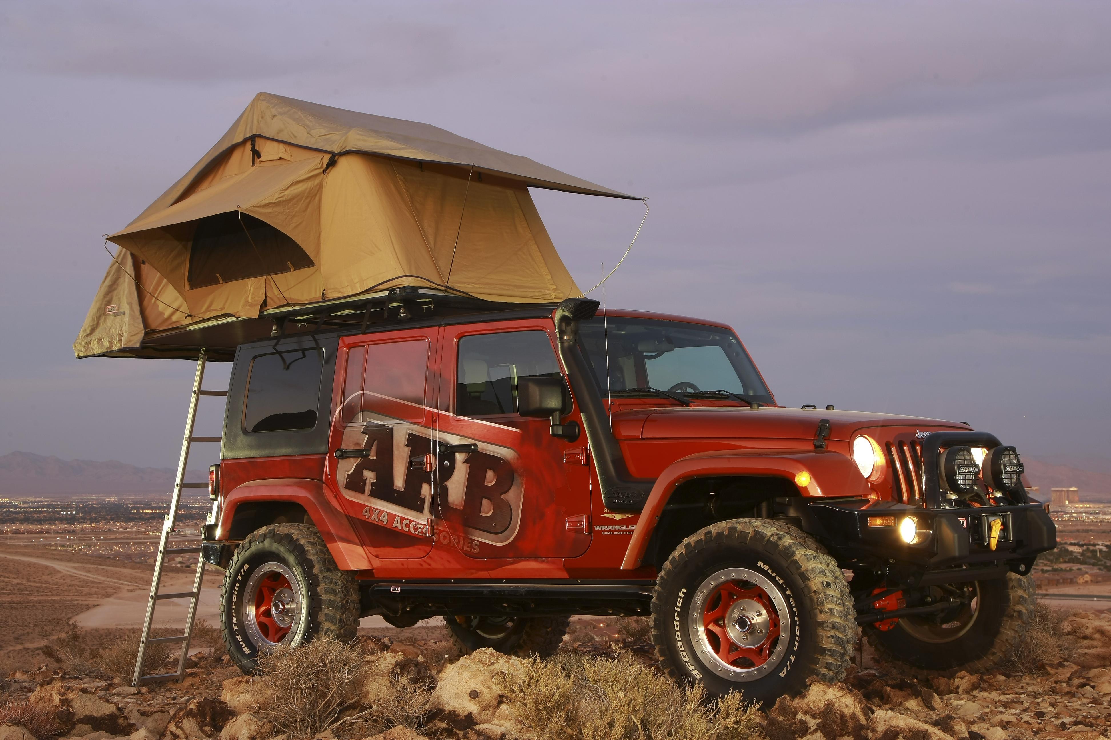 Arb Simpson 3 Roof Tent Devon 4x4 803103 Abl