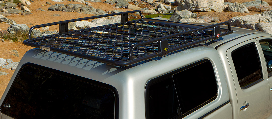 Arb Canopy Alloy Roof Rack With Mesh 1850x1120mm Devon