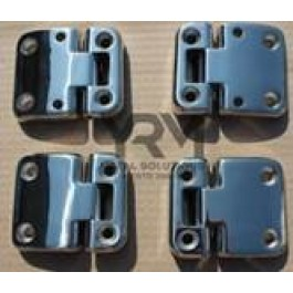 Defender / Series 3 Stainless Steel Door Hinges Set of 4  Second row DA1952