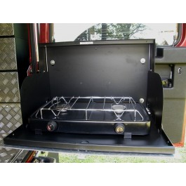 Gas Double Burner Cooker for Cooker Housing