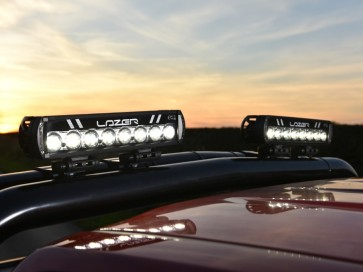 Lazer Tube Mounts (pair) - 76mm Black