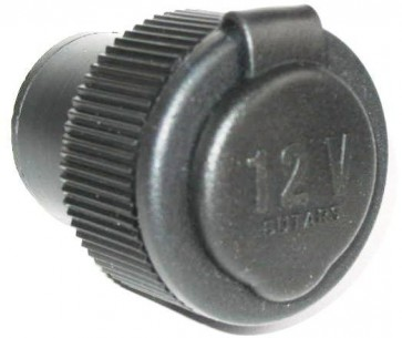 12v Single Accessory Socket With Cover