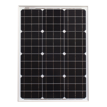 50w 12v Solar Panel with 5m Cable for Expedition, Overlanding, Caravans, Motorhomes and Boats