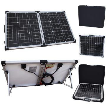 80w 12v Folding Solar Charging Kit for Expedition, Overlanding, Caravans, Motorhomes and Boats