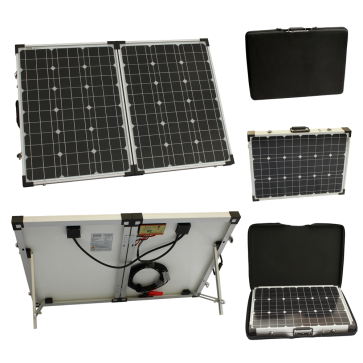 100w 12v Folding Solar Charging Kit for Expedition, Overlanding, Caravans, Motorhomes and Boats
