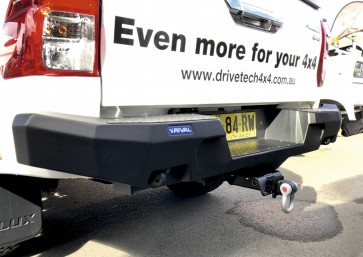 Rival - Toyota Hilux - Rear Bumper - no LED