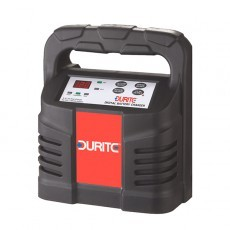 Durite 3 Step Fully Automatic Digital Wet Battery Charger - 12V