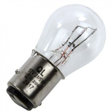 Stop/Tail Bulb 12v 21/5W Offset Pins