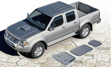 Nissan Navara D22 NP300 2001–2004 Underbody Armour Set