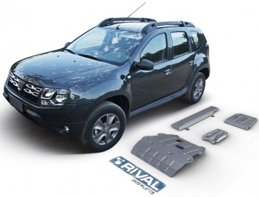 Dacia Duster Underbody Armour Set