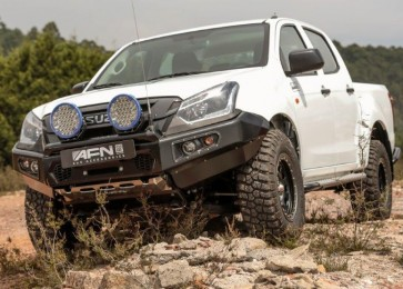 AFN Front bumper with fog lights- Isuzu D-Max 2017 onwards