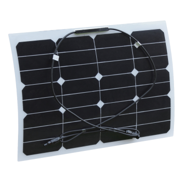 20W 12V Semi Flexible Solar Panel for Expedition, Overlanding, Caravans, Motorhomes and Boats