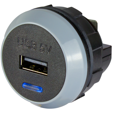 Alfatronix PVPro-S 12/24VDC USB Charger
