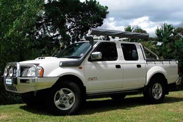 Safari Nissan Navara D22 3.0L Diesel With Twin Battery Set Up Snorkel