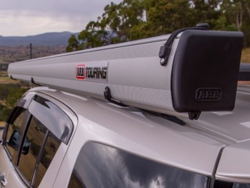 ARB 2500 x 2500mm Aluminium  Encased Awning and LED Light Kit