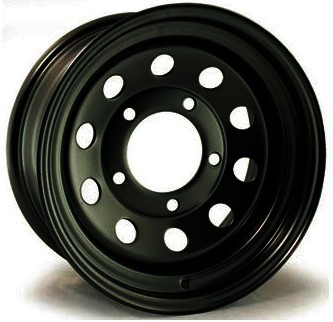 "Modular Wheel Black 7"" x 16"" ET0"