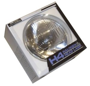 "7"" H4 Clear Headlight - RHD"