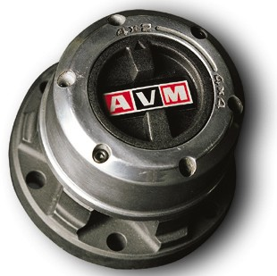 AVM Free Wheel Hub Set - Land Rover Series 1, 2 & 3