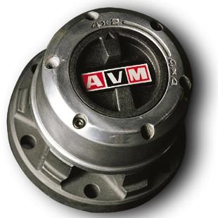 AVM Free Wheel Hub Set - Nissan Patrol GQ / Ford Maverick / Tata Sumo
