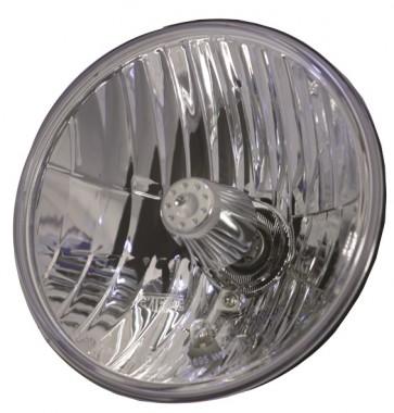 "7"" SVX Crystal Clear Headlight - RHD - Includes built in sidelight"