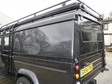 AFN Defender 130 Double Cab Aluminium Hard-top - Lift Up Tailgate