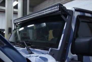 "Jeep Wrangler JK 2007 to 2018 50"" Light Bar Mounting Set"