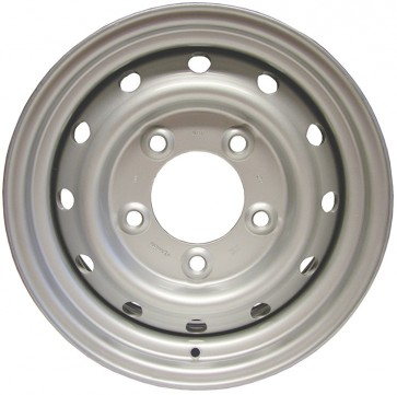 "Land Rover Wolf Style Wheel 6.5x16"" - Silver ANR4583SILVER"