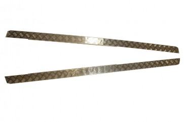 Bearmach Defender 110 Chequer Plate Side Sill Set 2mm