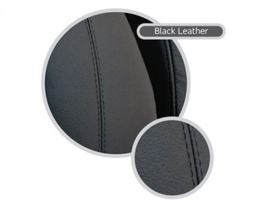 Two Seat Retrim Kit Black Leather