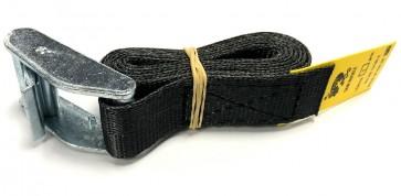 Cam Buckle Strap 1m x 25mm - Black