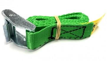 Cam Buckle Strap 1m x 25mm - Green