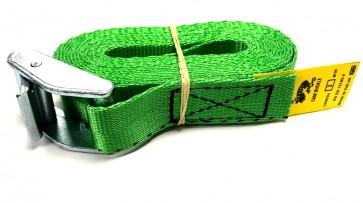 Cam Buckle Strap 3m x 25mm - Green