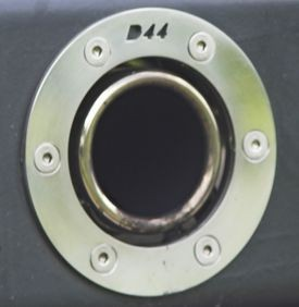 D44 Exhaust Finisher - 110mm