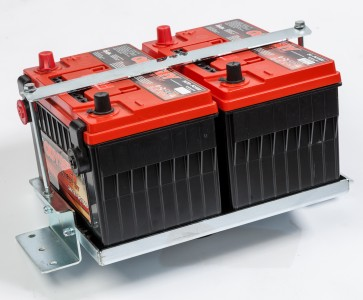 Twin Battery Package - Defender Up To 2006