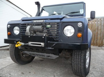 D44 Defender High Mount Bumper - 8274 Standard