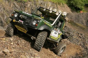 D44 Defender High Mount Bumper - 8274 Tapered
