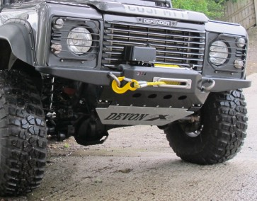D44 Defender High Mount Steering Guard D44DGUARDKIT