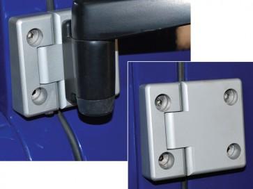 Defender / Series 3 Aluminium Front Door Hinges DA1131