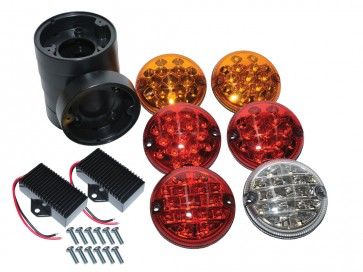 Wipac LED Rear NAS Light Upgrade Kit