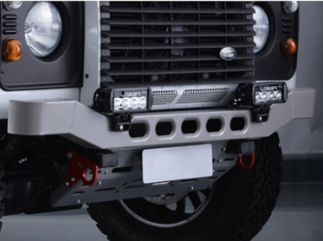 Bowler Light Weight Front Bumper - Race - Graphite