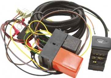 Defender Heated Windscreen Kit - LR Switch